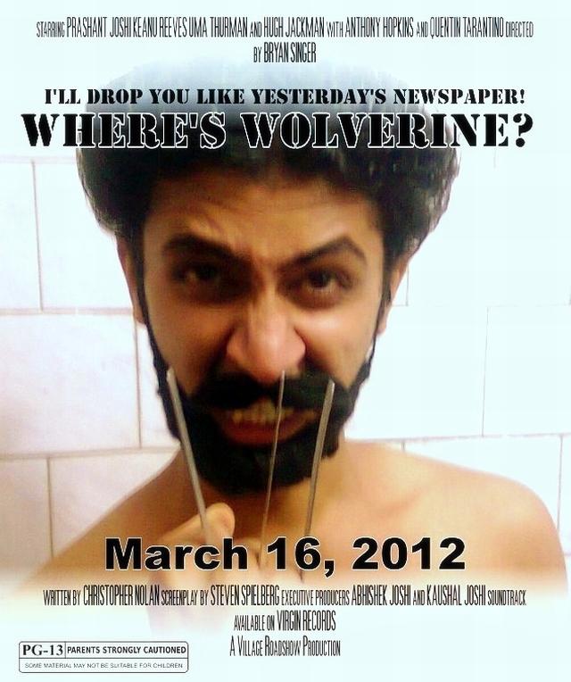 Waking  up Wolverine, movie poster Wolverine X men