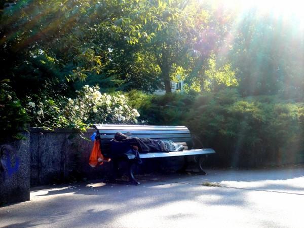 Berlin, homeless, nature