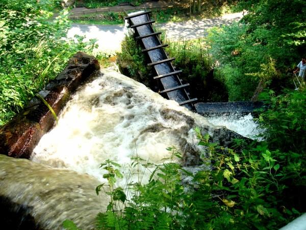 germany, waterfall,