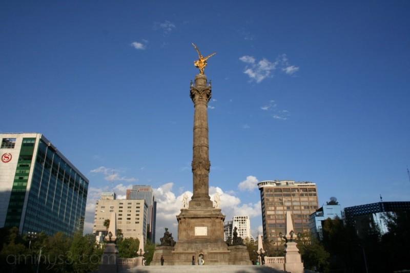 angel la de independencia DF monumentos