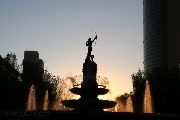 la fuente de la diana DF reforma monumentos