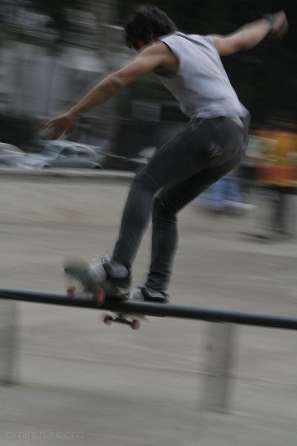 Skateboarding Polanco DF