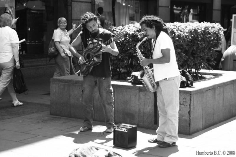 centro Historico DF musicos callejeros
