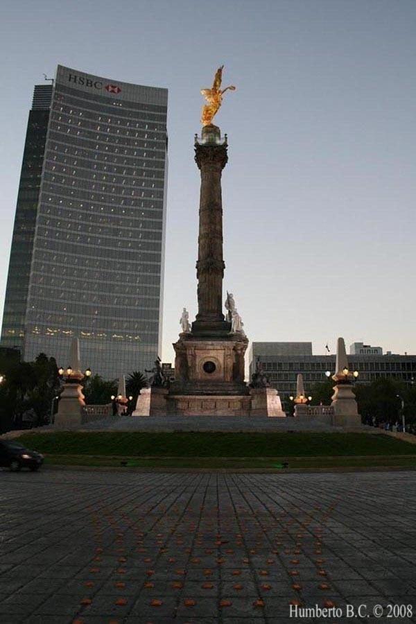 Angel  de la independencia DF monumentos