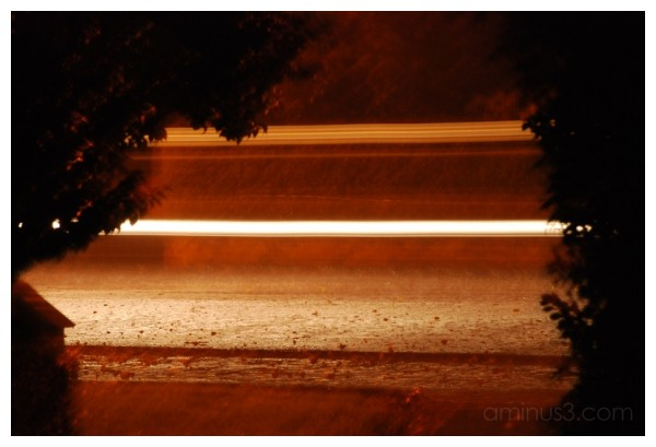 light - rain