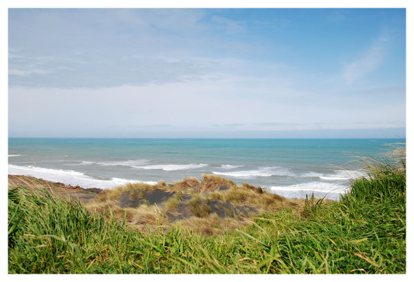 Off the coast of Patea