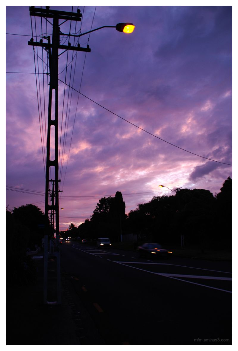 Campbell Road Sunset