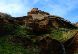 Cliffs at Karioitahi beach