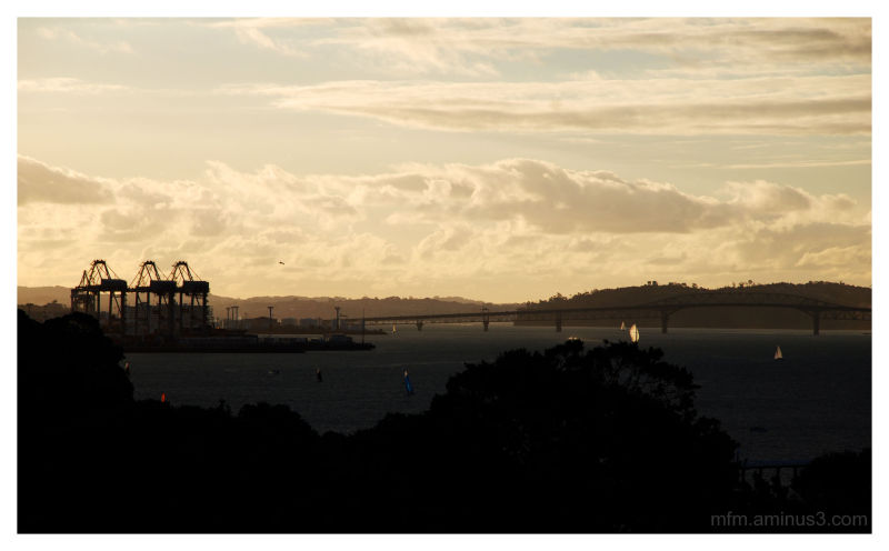 Waitemata  Sunset