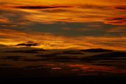 Sunrise from Mt Eden