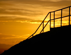 Sunrise from Mt Eden - 2
