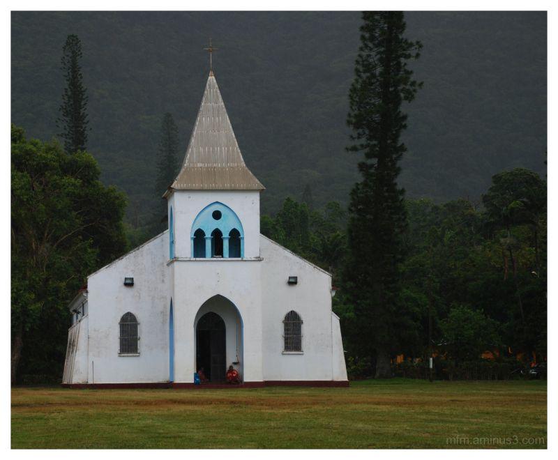Church at Goro, Noumea