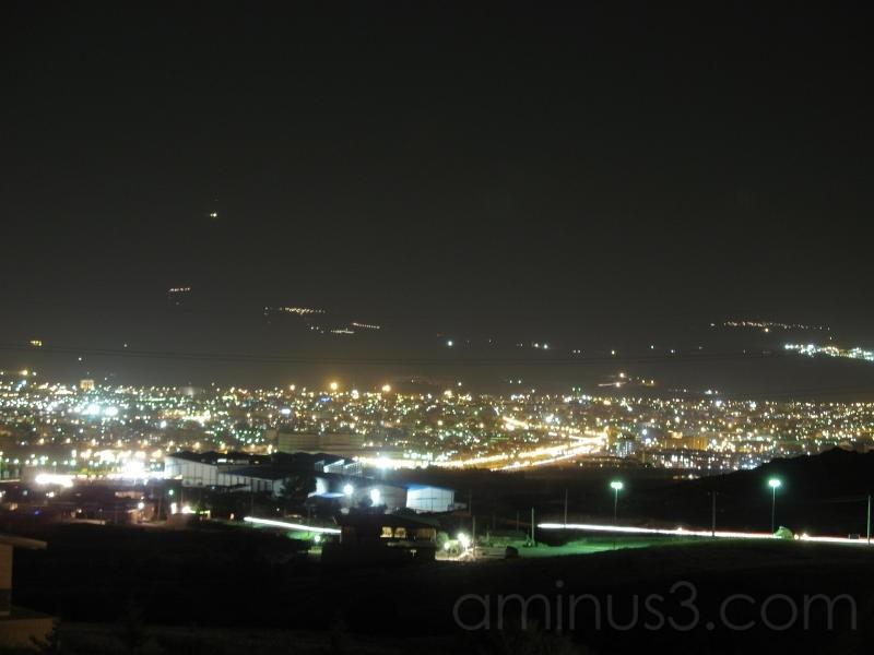 زنجان در شب