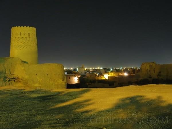 نارین قلعه در شب -2