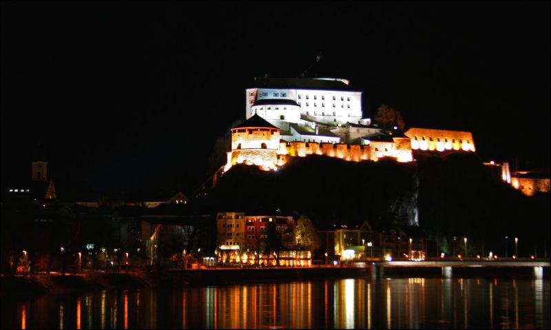Kufstein at night