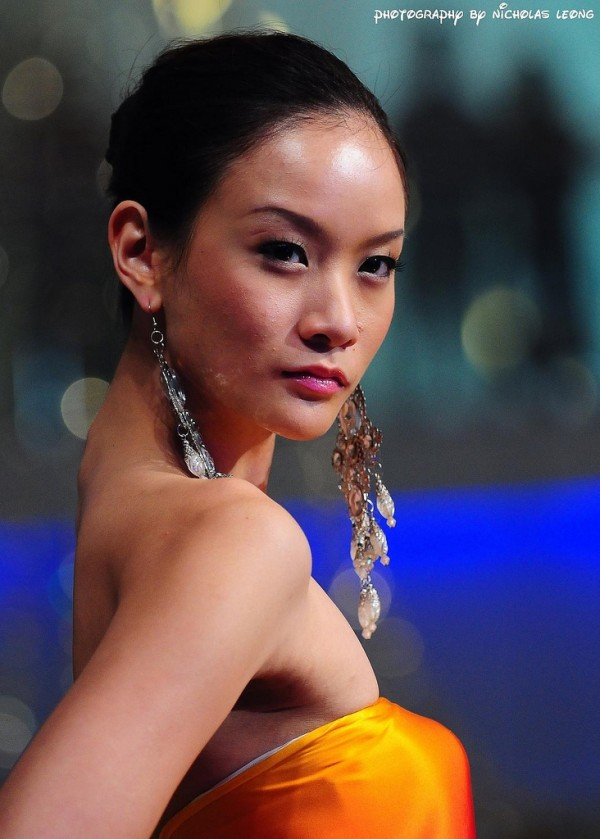 A model at a recent fashion show in Malaysia