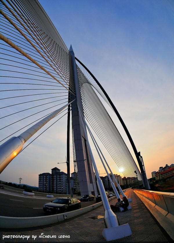 A bridge in Putrajaya