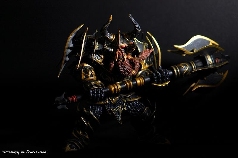 A Warcraft toy