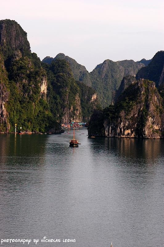 Another view of Halong Bay
