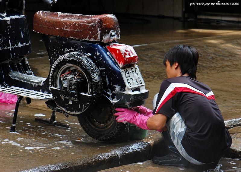 A bike wash
