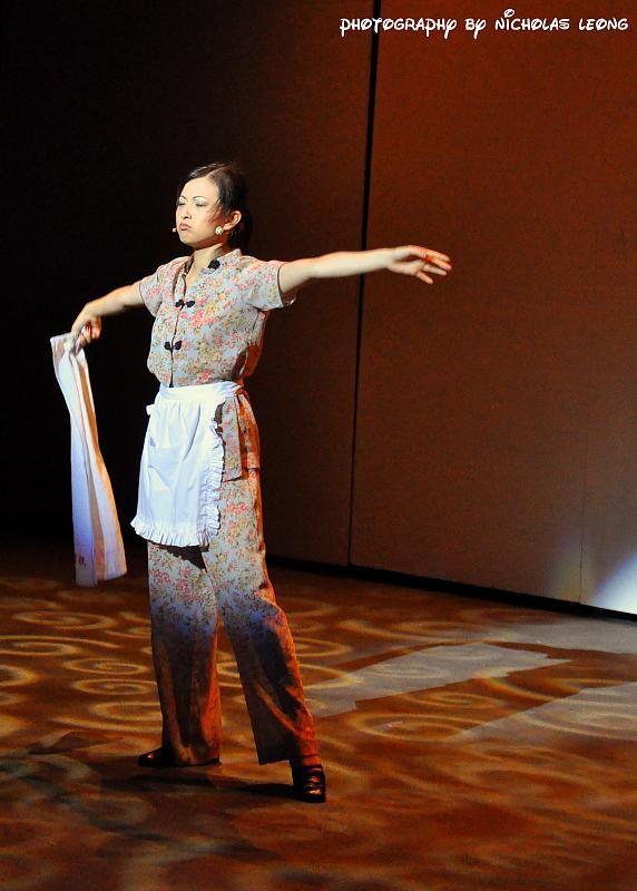 Tabitha Yong at a musical
