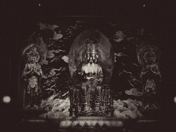 A buddhist statue