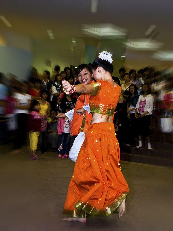An indian dance