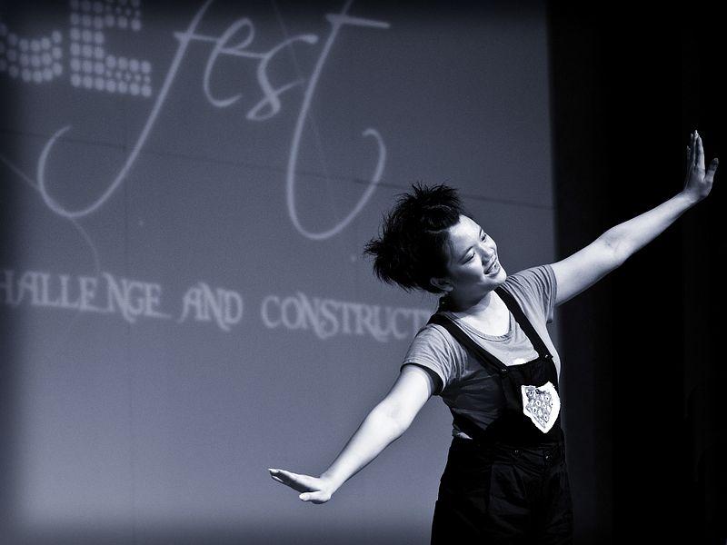 A contemporary dance