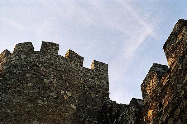 Medieval Castle in Évora, Portugal