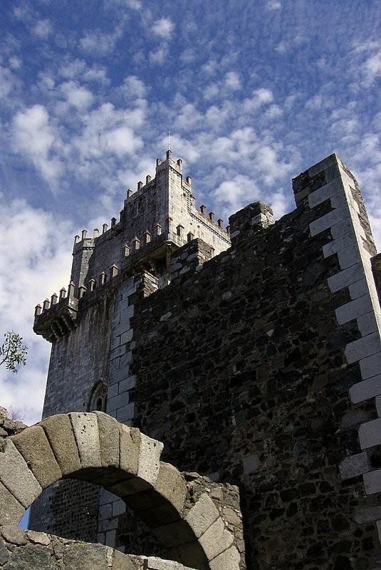 Medieval Castle of Beja, Portugal.
