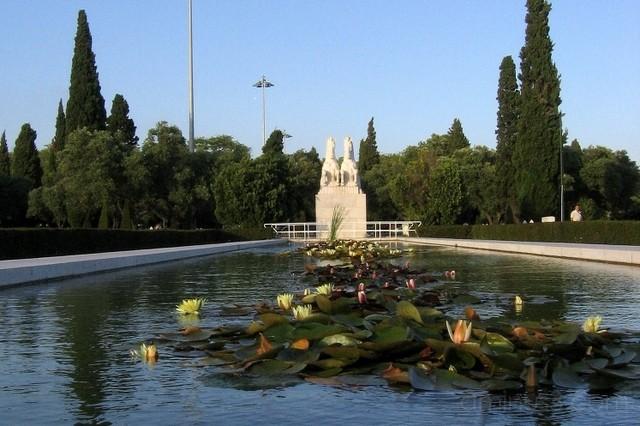 Belem gardens, Lisbon