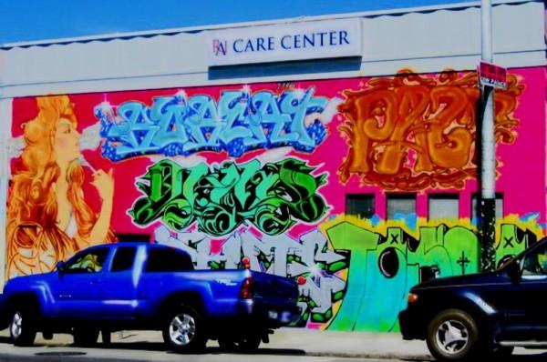 mural photography colors california gopikrish