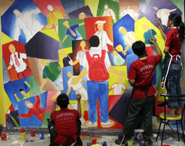 Mural Painting at SSS