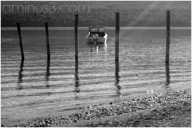 Idyllische Lake Te Anau