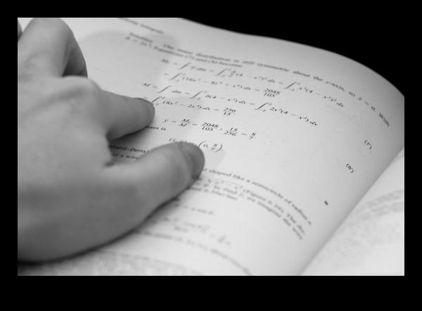 doing math home work