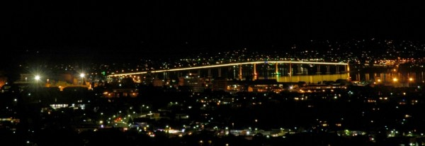 Tasman Bridge @ Night