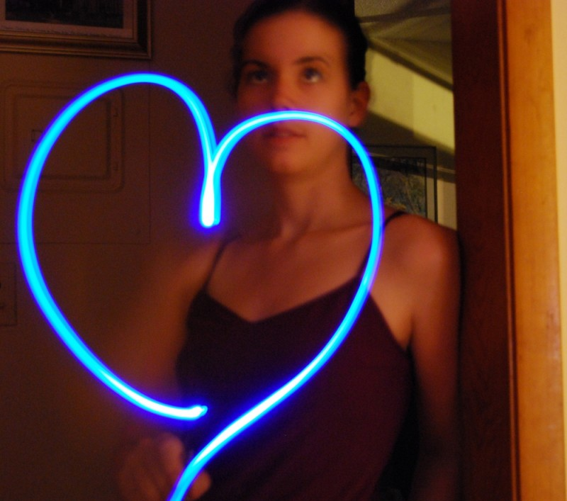 light, heart