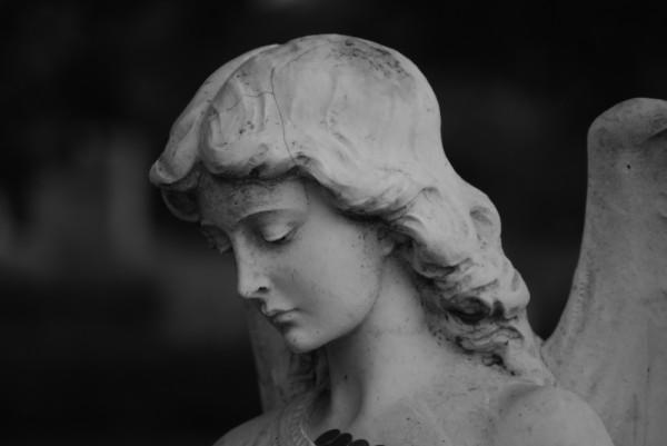 Statue, Oakland cemetery