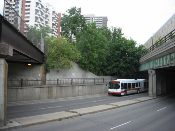 Bus in Toronto