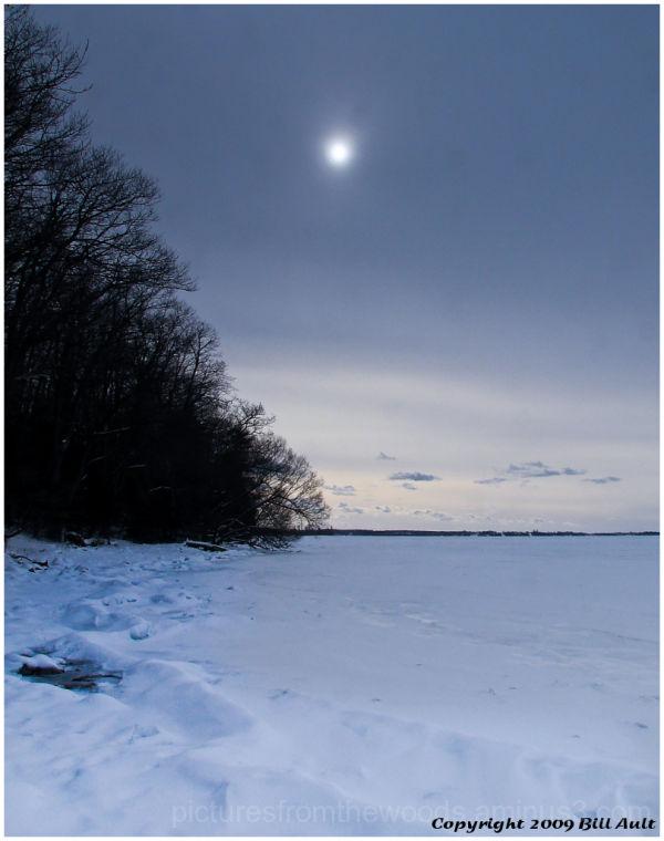 Frozen Lake Ontario.