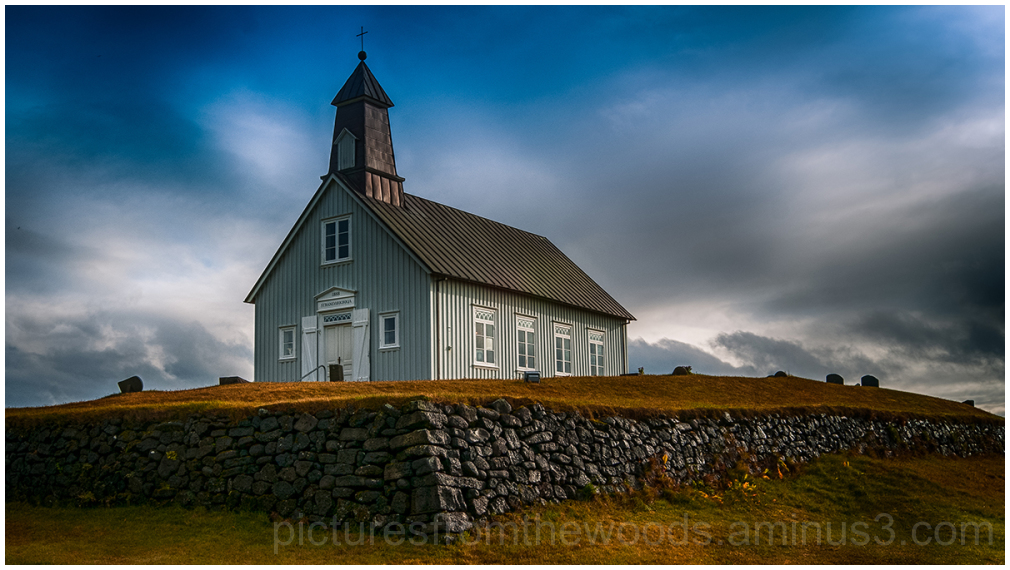 One of the many unique Icelandic churches