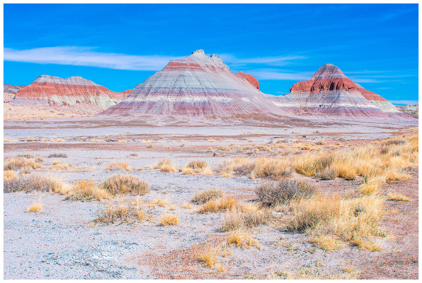 Tepees formation at Petrified Forest