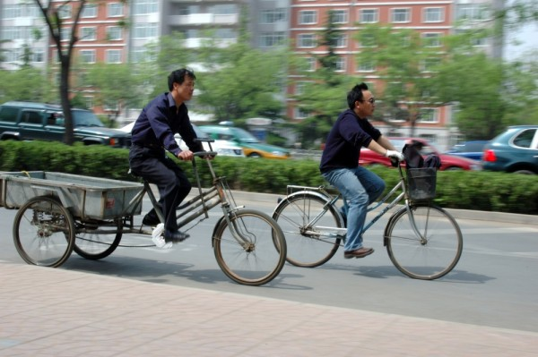 Racing on Jianguomen Wai