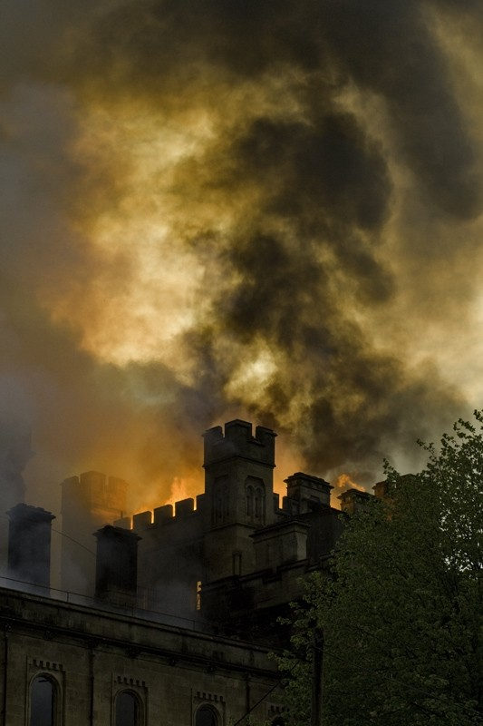 Lennox Castle Fire - 19th May 2008