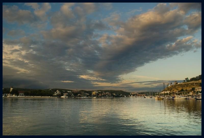 Port de Maó una tarda qualsevol de juny