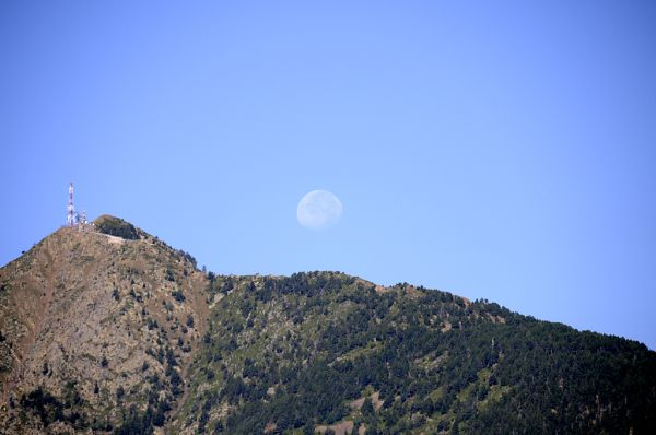 Des de Sant Miquel d'Engolasters (Andorra)