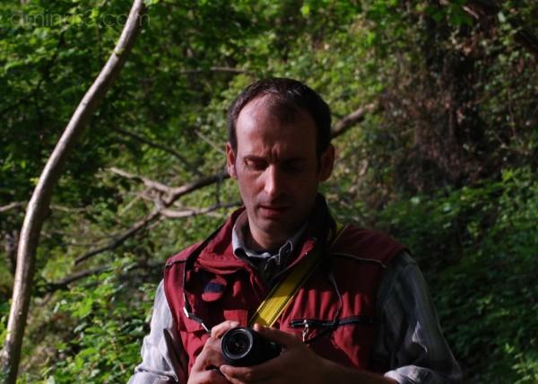 ...my friend Arnaldo and his new fotocamera...
