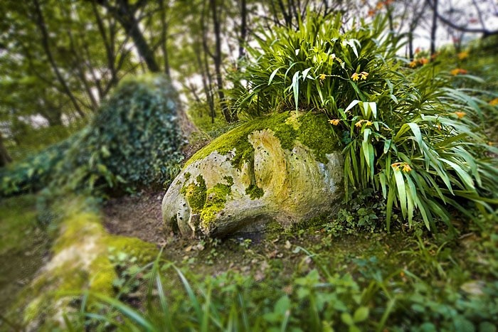 Mud maid,  lost gardens of heligan