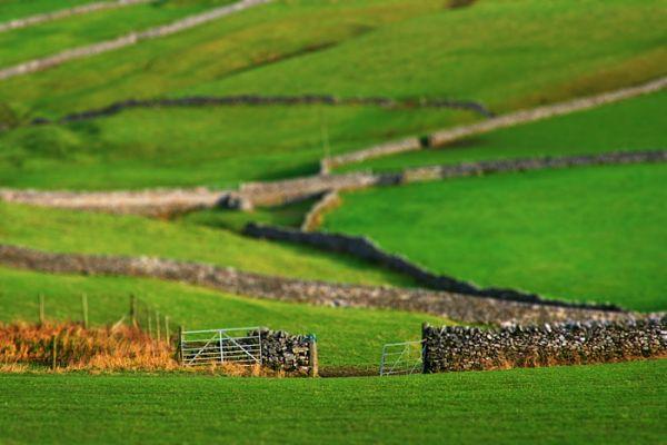 landscape, gate, castleton