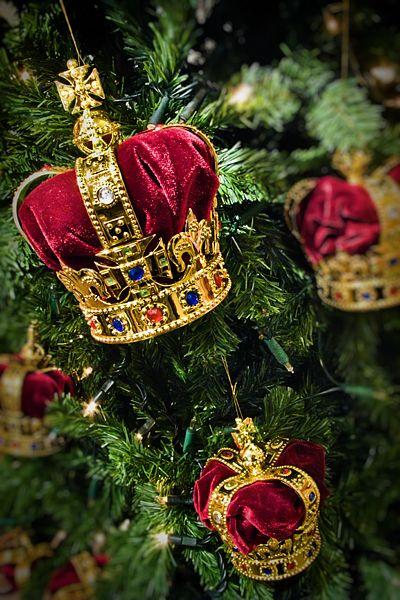 Royal Christmas tree